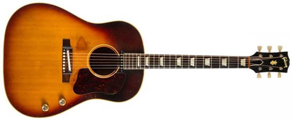 Gibson J-160E: la chitarra perduta di John Lennon