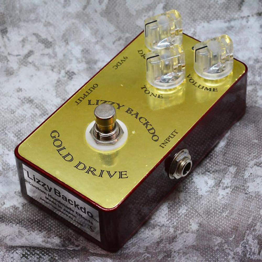 Lizzy Backdo Gold Drive: boost-overdrive-distorsore dal Giappone