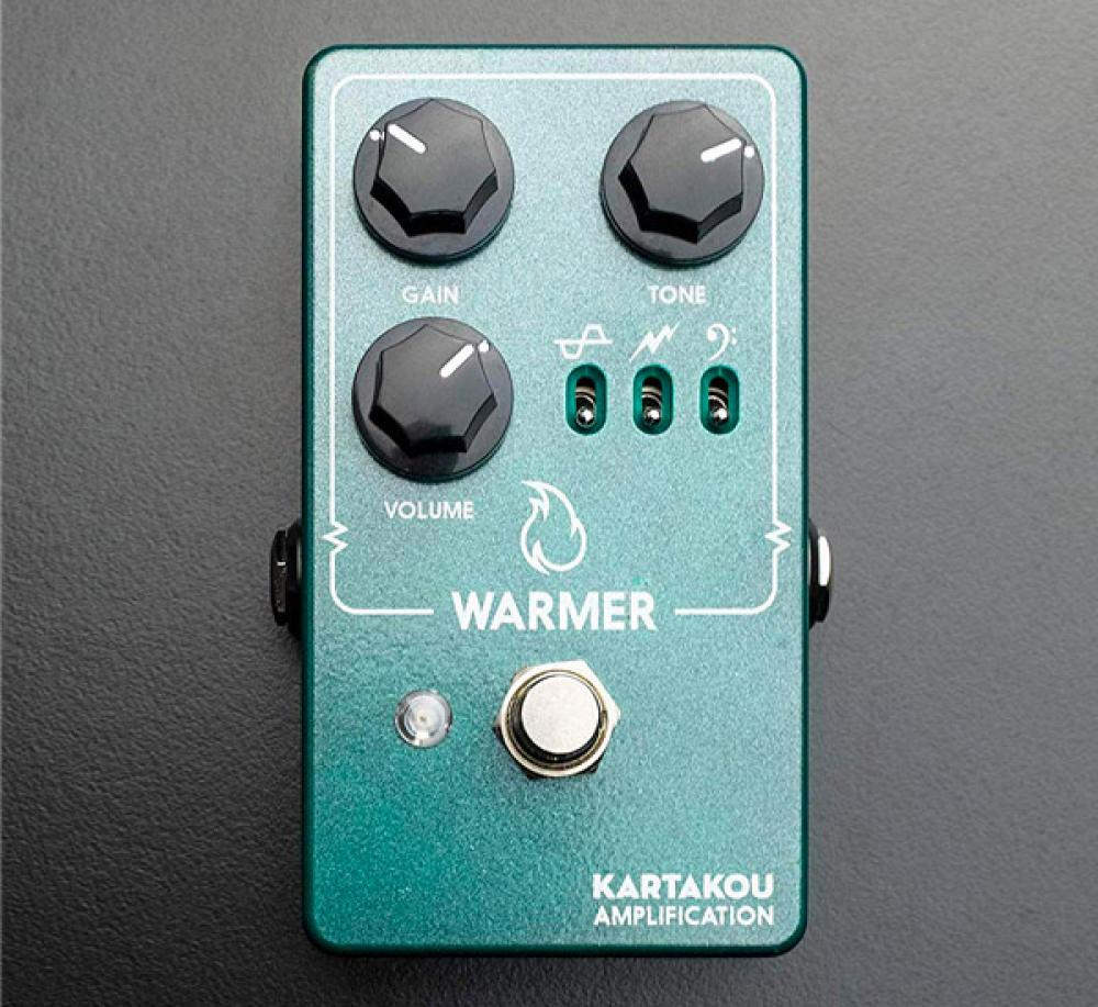 Warmer: TS808 con 3 switch e 5 Op Amp