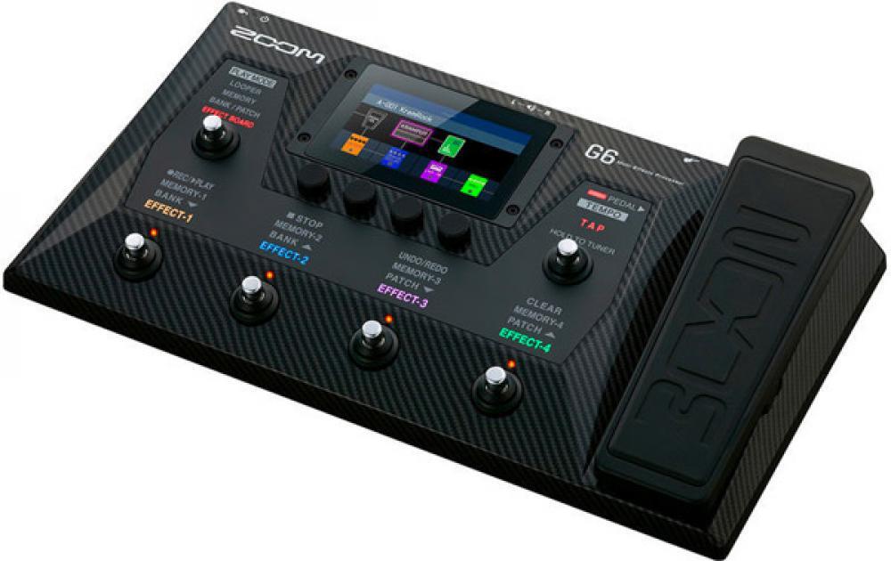 Zoom G6: la demo e i suoni di Choptones