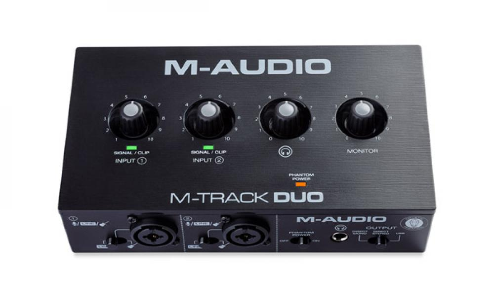 M-Track Solo e Duo: le accessibili M-Audio