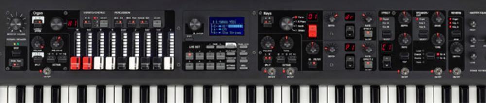 Yamaha YC61: l'organo con drawbar nel nuovo millennio