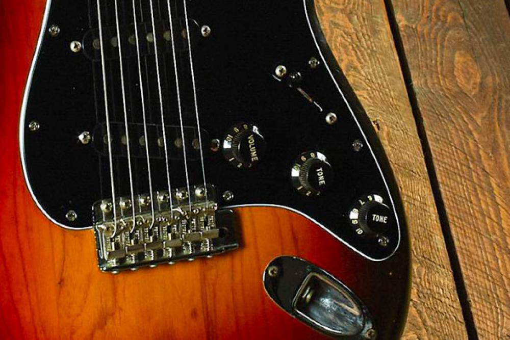 Una Stratocaster timida