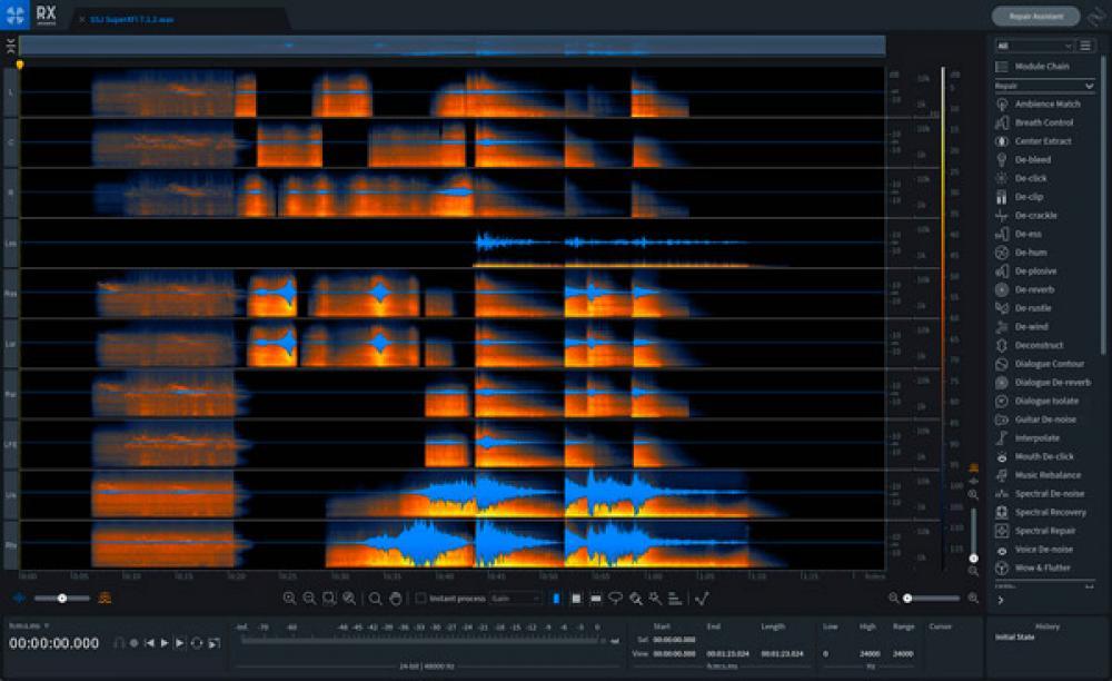 iZotope RX 8: restauro audio alla massima potenza