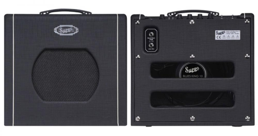 Il Supro Blues King si rinnova con boost e OD