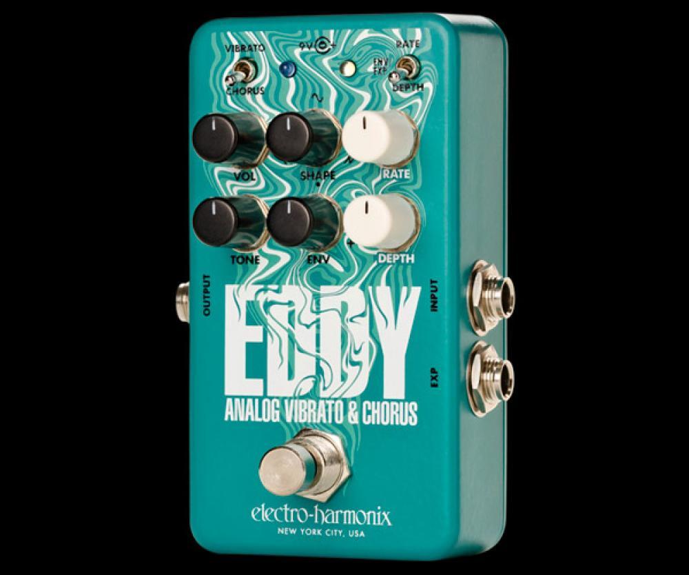 Eddy: Vibrato/Chorus con Envelope e pedale d'espressione