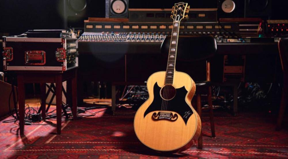 Gibson replica la SJ200 Wildflower di Tom Petty