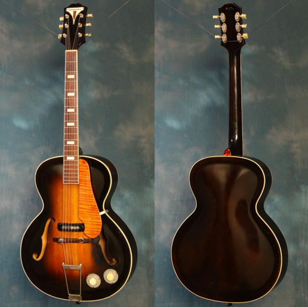 I primi modelli di chitarra elettrica (1935-1941)