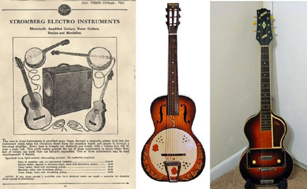 Il primo pickup magnetico per chitarra... forse!