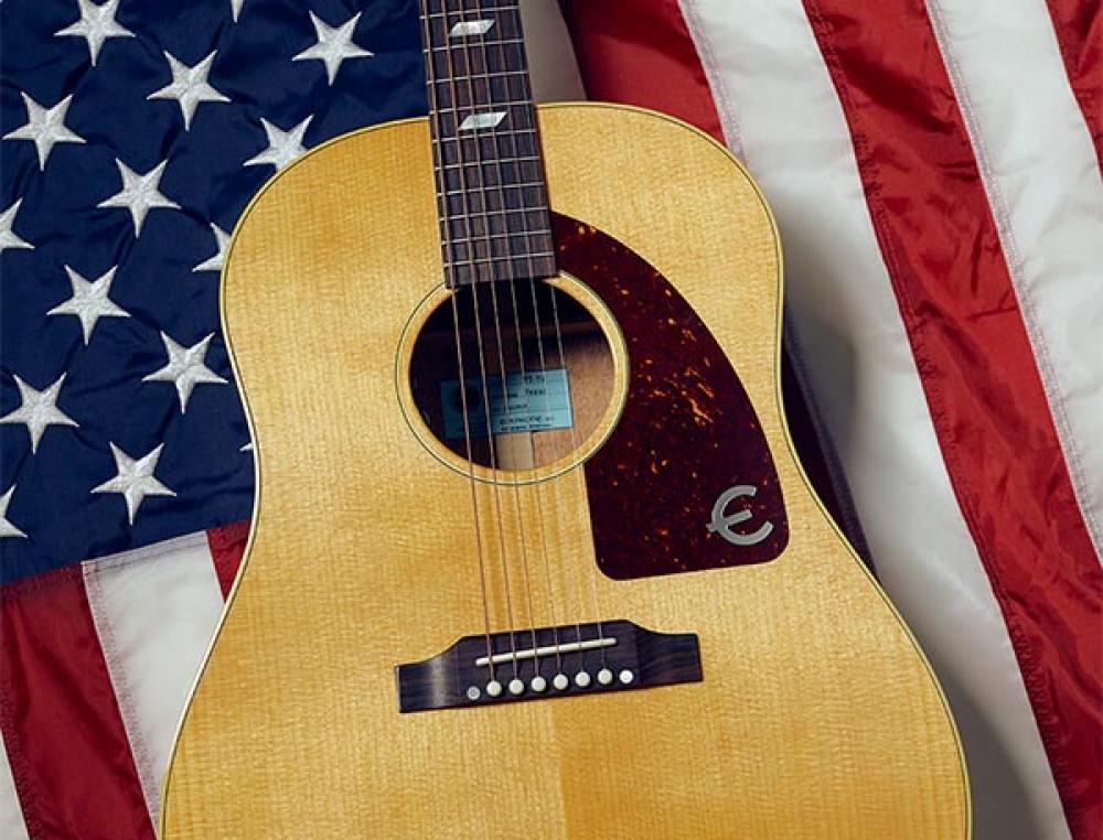 Texan: Epiphone made in USA