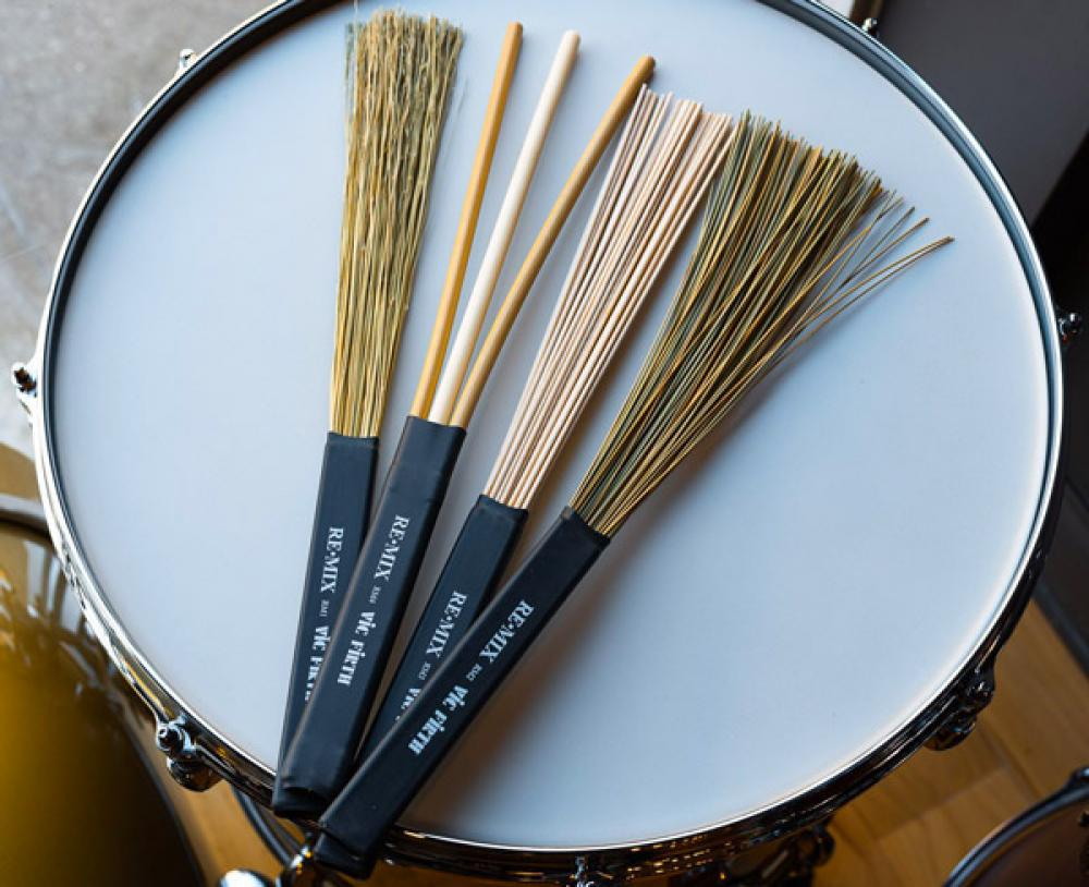 Re-Mix: spazzole componibili Vic Firth