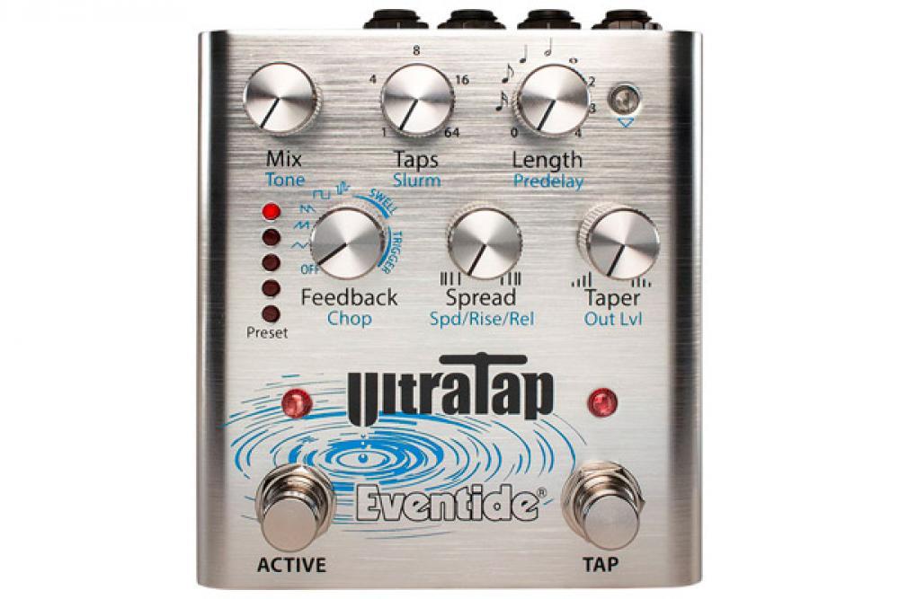 UltraTap Pedal: il pazzo delay Eventide diventa stompbox