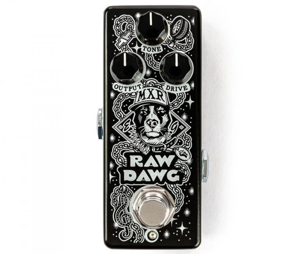 MXR Raw Dawg: mordente blues per Eric Gales