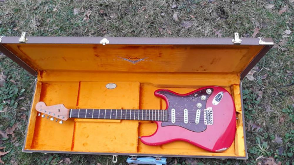 Custom Shop per caso: Fender Stratocaster Relic '60
