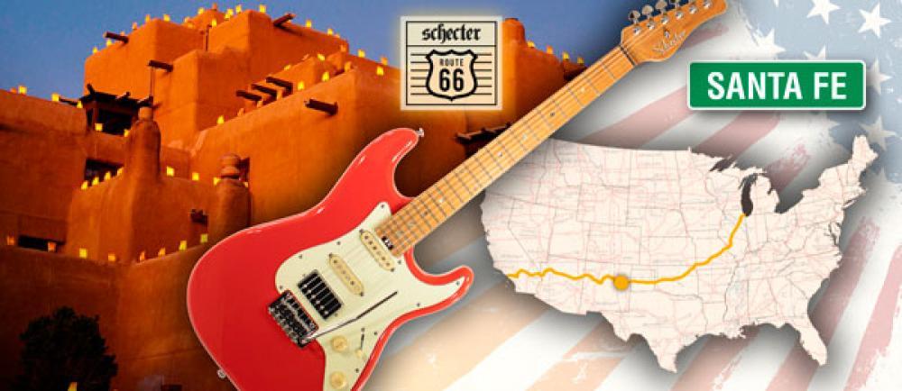 Schecter Route 66: La Meta è il Viaggio