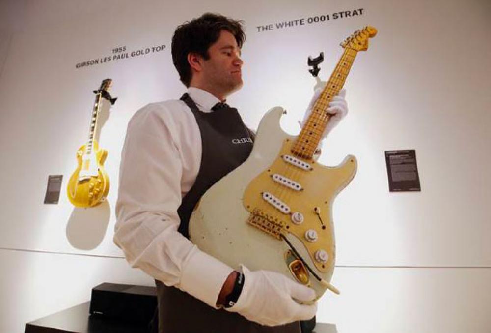 Cool Gear Monday: la Stratocaster #0001 di David Gilmour