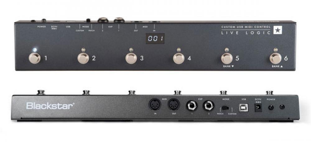 Live Logic: controllo MIDI facile da Blackstar