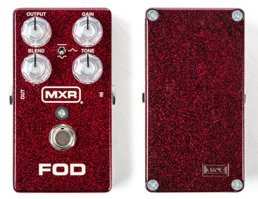 MXR FOD: doppio ampli in un overdrive