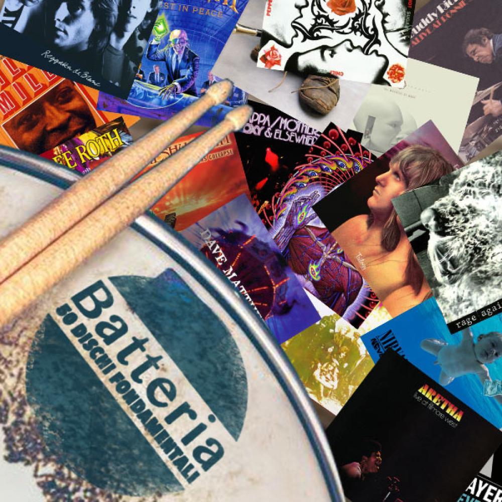 Batteria: 50 dischi fondamentali