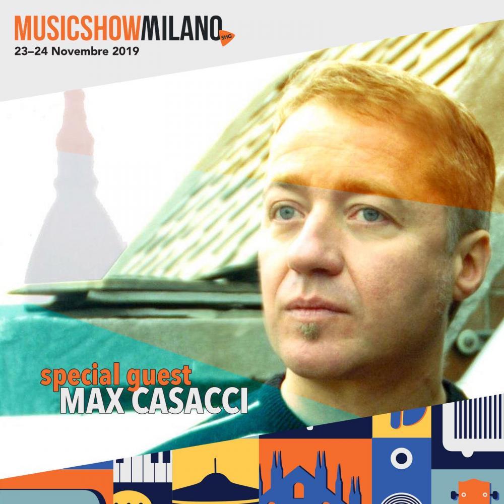 Max Casacci dei Subsonica sul palco di SHG