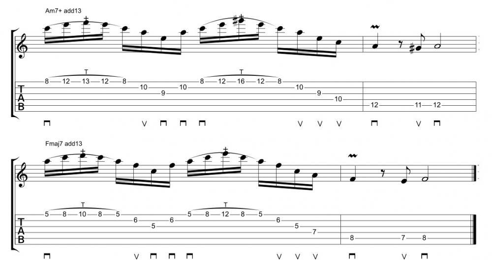 Heavy Metal: arpeggi, armonizzazioni e tapping