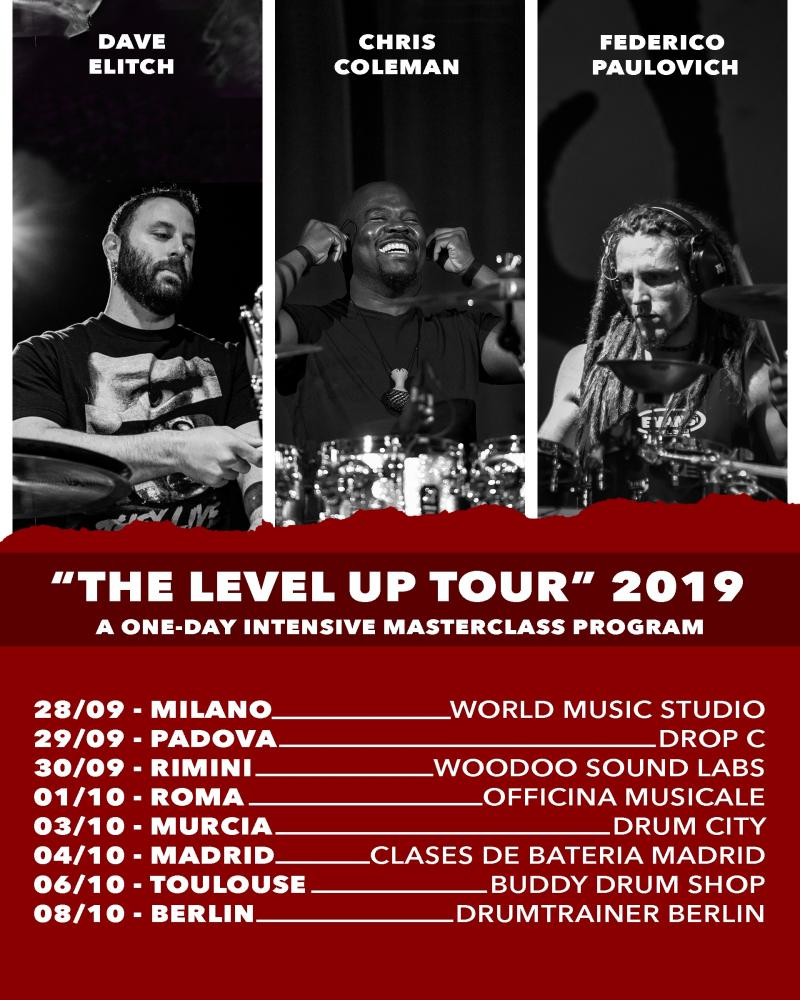 The Level Up: le masterclass di Federico Paulovich con Dave Elitch e Chris Coleman