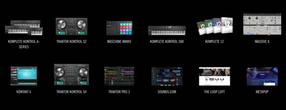 Nove prodotti per i creativi da Native Instruments