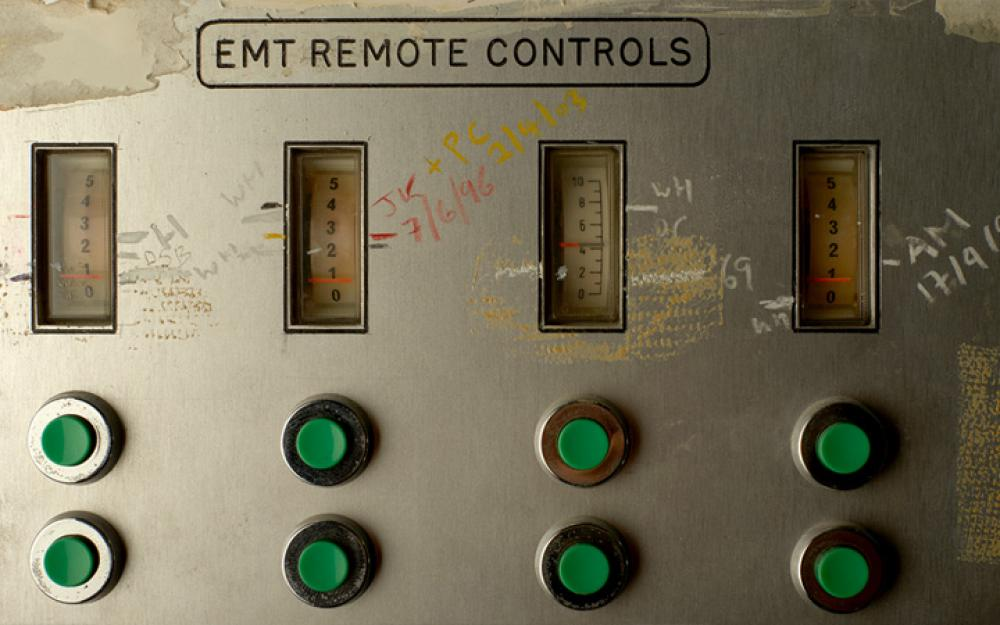 Studio Icons - EMT 140 plate reverb