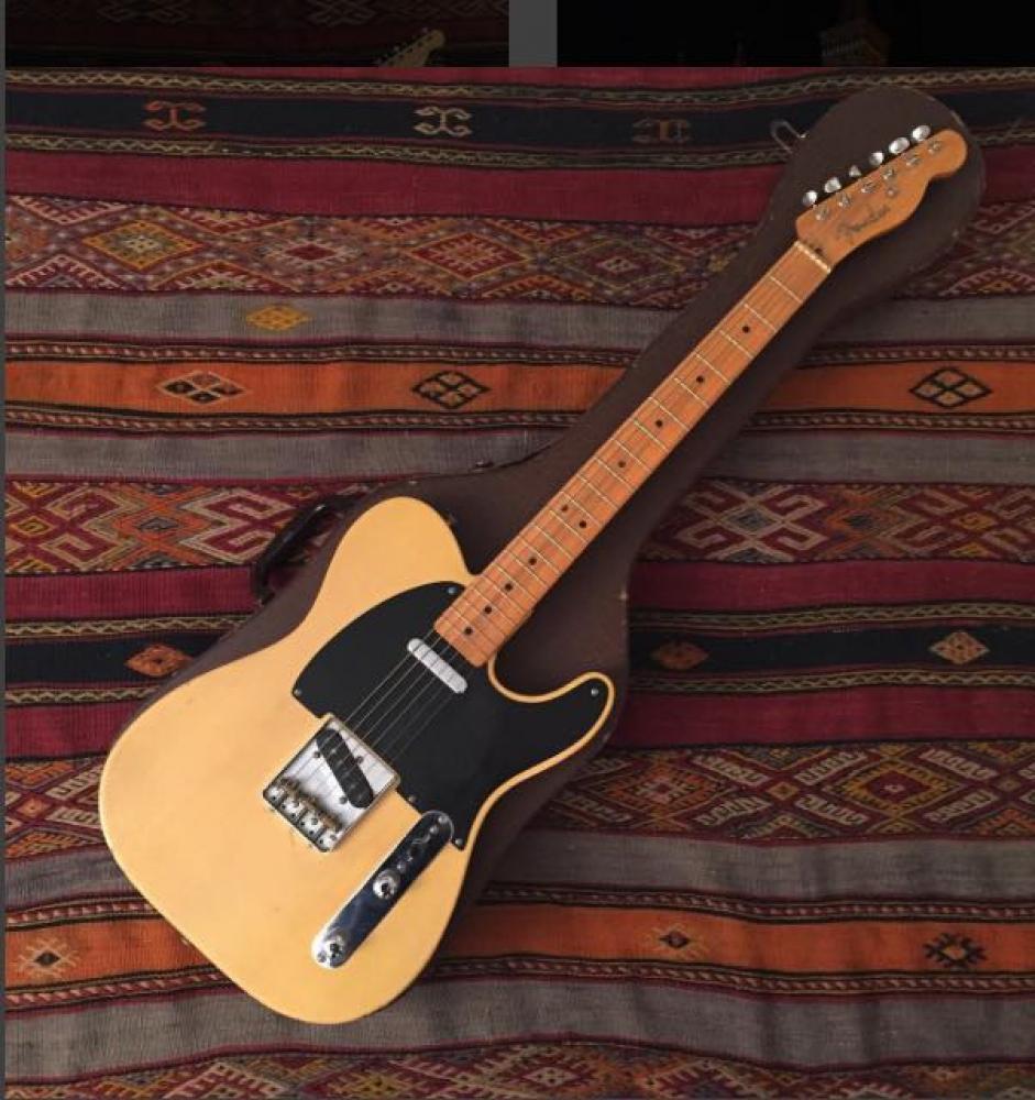 Ascolta una vera Fender Nocaster del 1951: la Telecaster senza nome