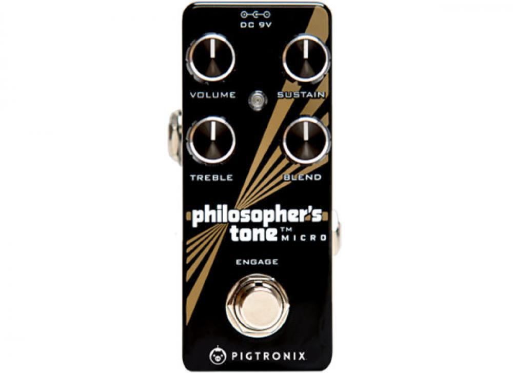 Paul Gilbert spiega il Pigtronix Philosopher's Tone Micro