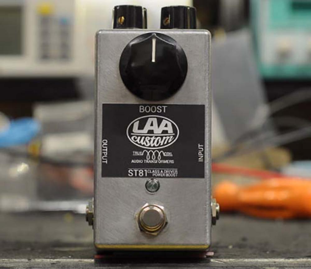ST81: il boost-eq-trasformatore LAA Custom in prova