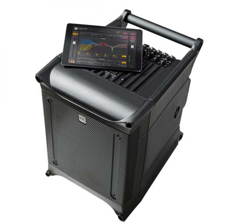 HK Lucas Nano 608i: impianto portatile con mixer smart