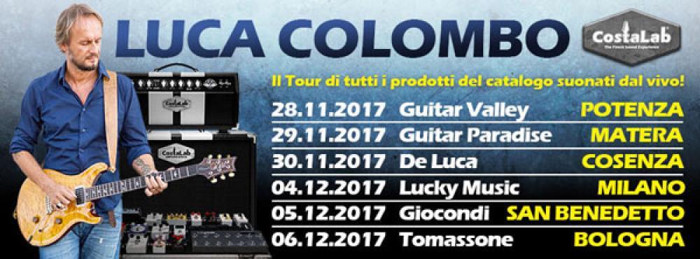 Al via il demo tour di Luca Colombo e CostaLab