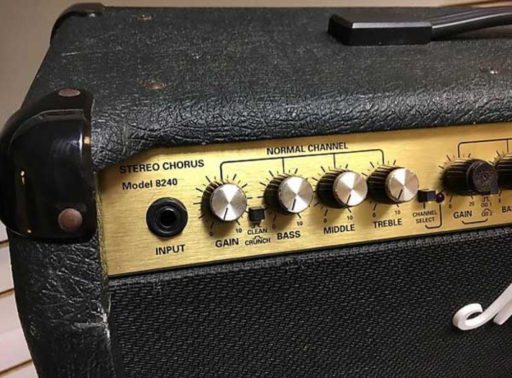 Marshall 8240 Valvestate: l'amplificatore degli amici