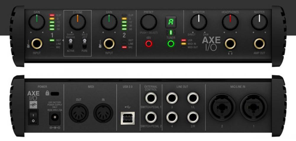 AXE I/O: la prima interfaccia IK dedicata alla chitarra