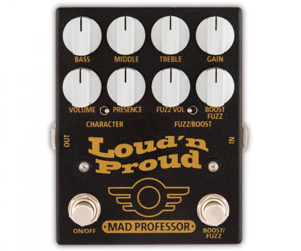 Loud n' Proud: 4-input plexi vintage in pedaliera