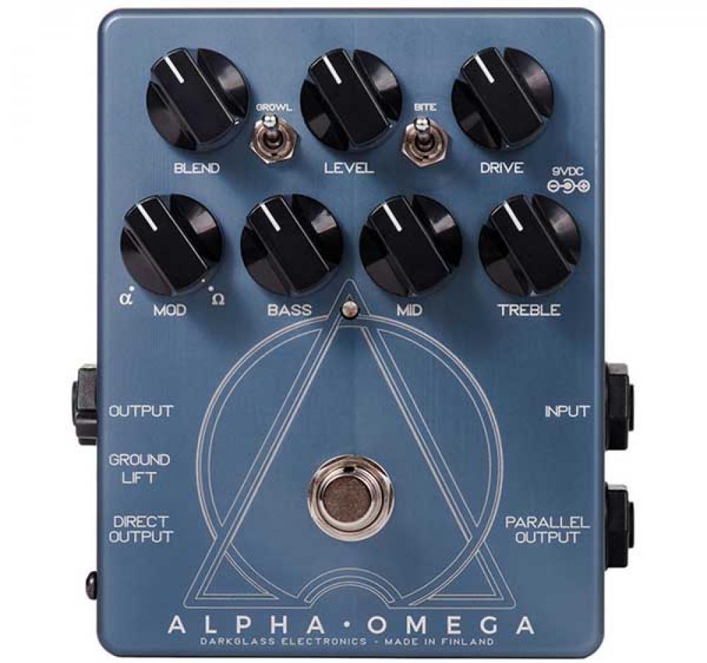 Darkglass Alpha Omega: due distorsioni in un solo pedale