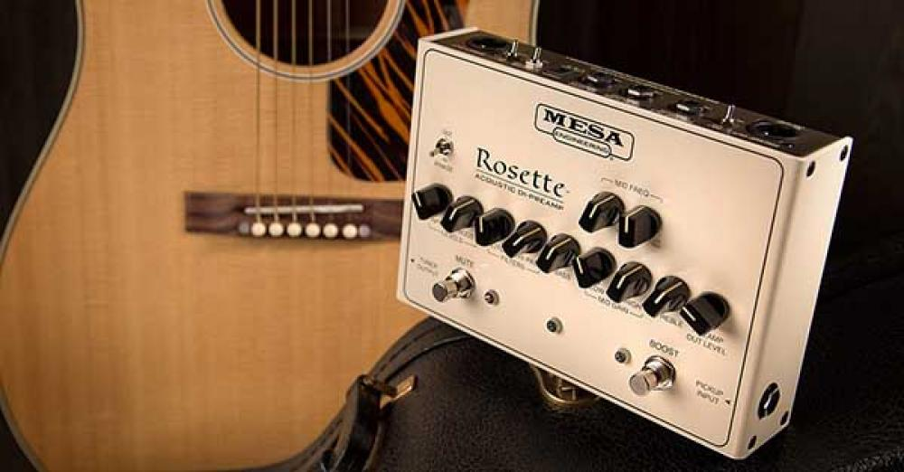Rosette: Mesa Boogie va in acustico