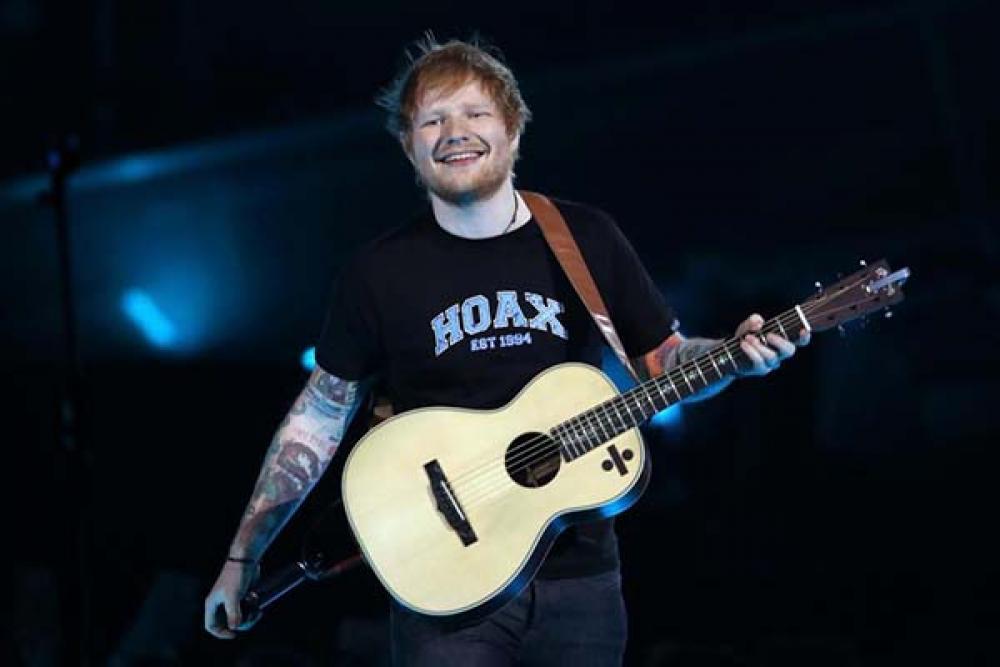 Terza mini-signature Martin per Ed Sheeran