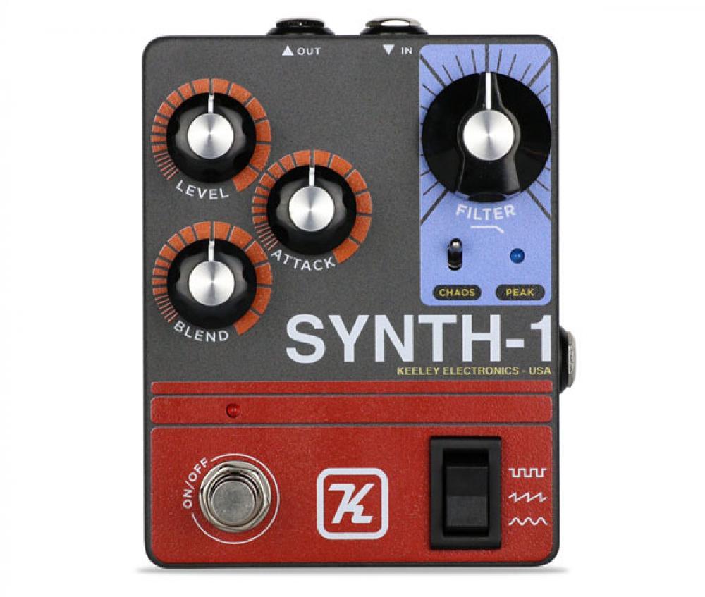 Synth 1: sintetizzatore per chitarra secondo Keeley