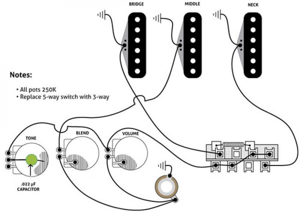 Il meglio della Telecaster e della Strat in un wiring fai-da-te