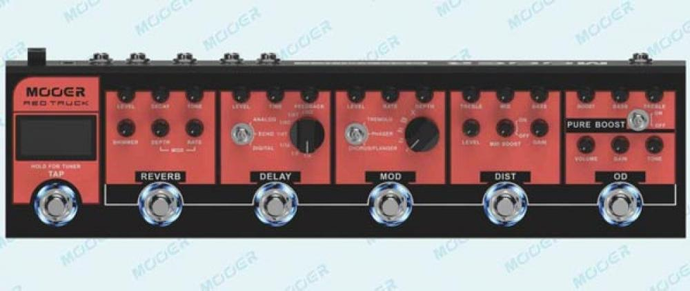 Red Truck: rig all-in-one da Mooer
