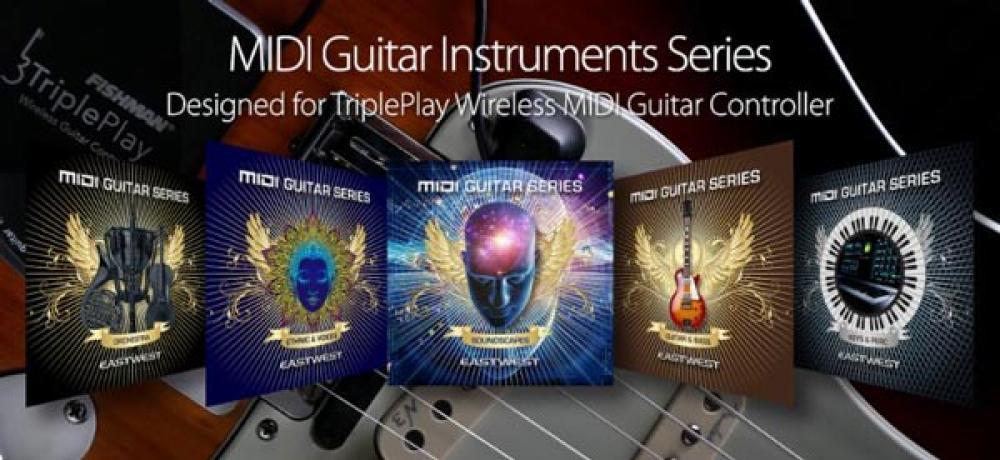 Da Eastwest la prima raccolta di suoni dedicata alle chitarre MIDI