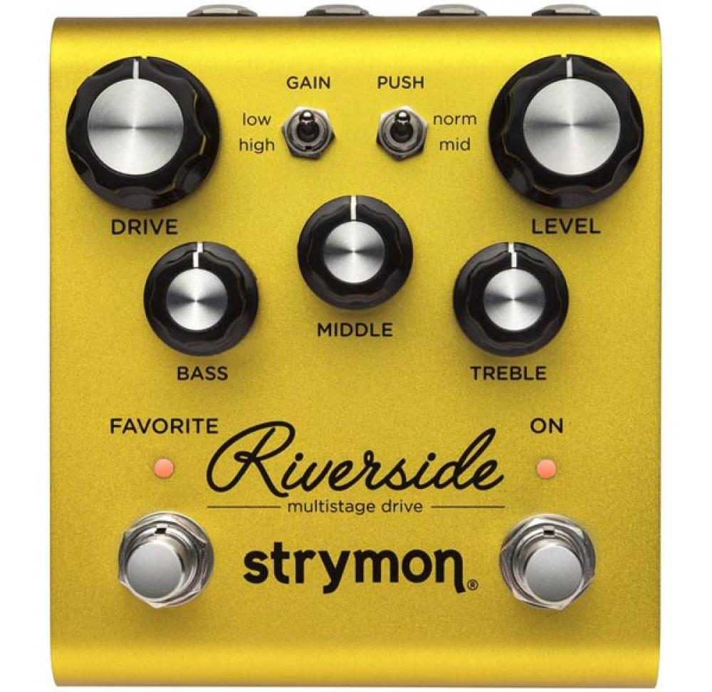 Riverside: l'overdrive Strymon è analogico e digitale insieme