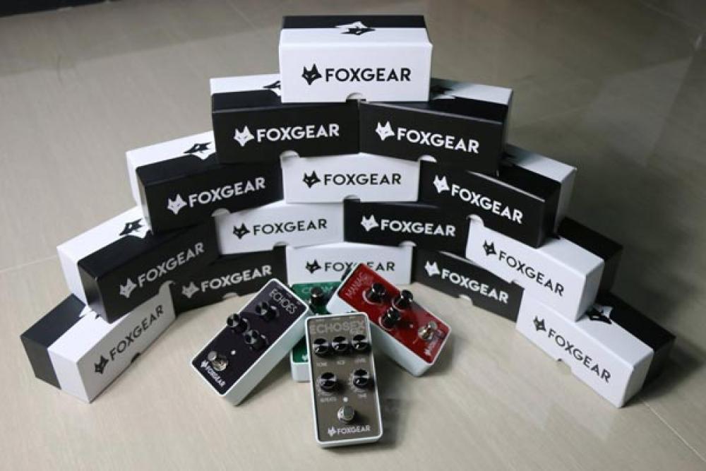 Foxgear: ecco la prima linea di effetti