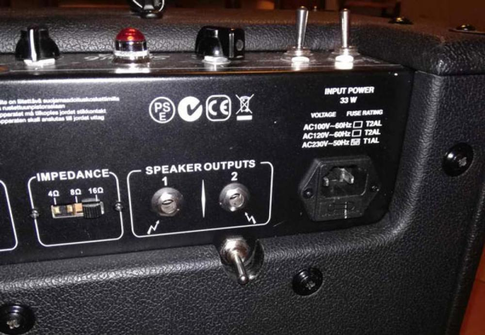 Customizzazione di un VHT Special 6 Ultra