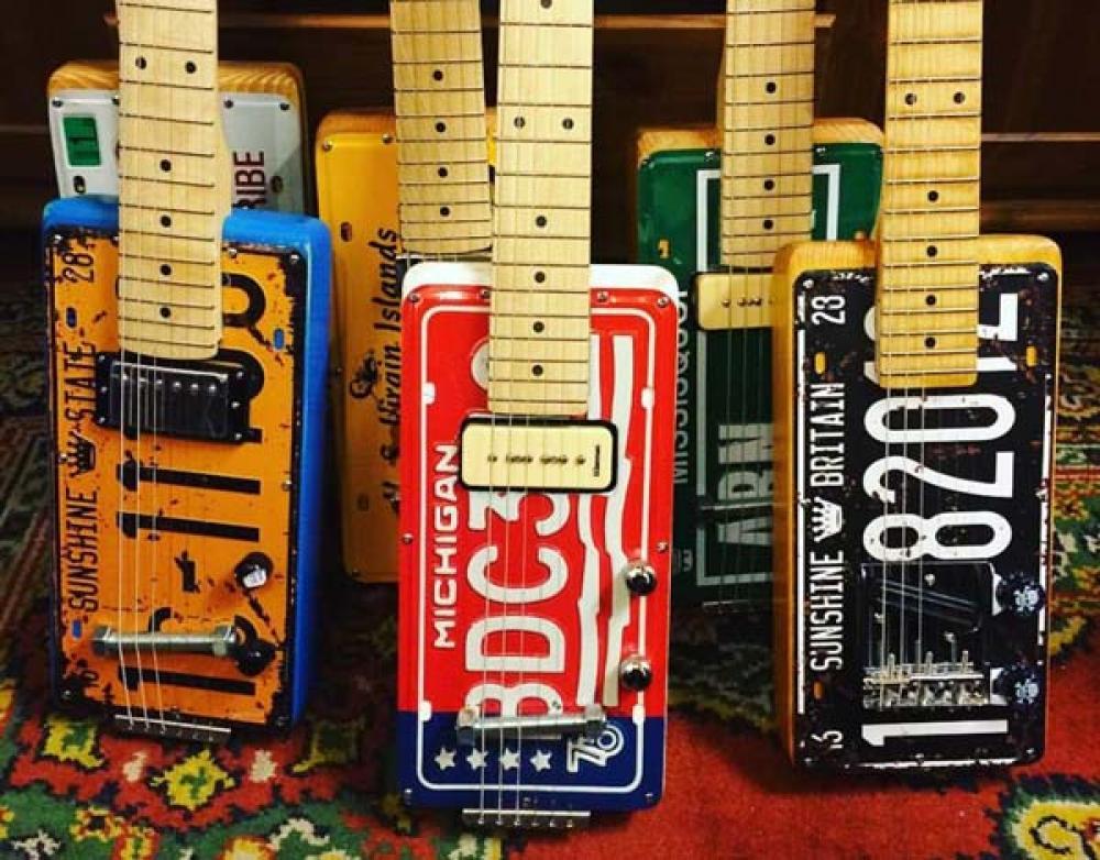 Le chitarre e i bassi più hot di Custom Shop 2017