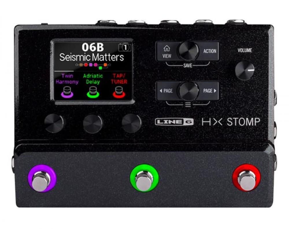 HX Stomp: alta tecnologia Line 6 in formato pedale