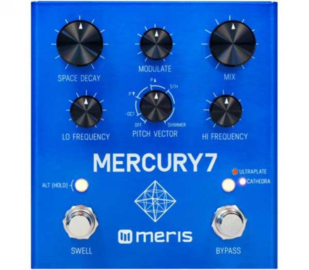 Meris Mercury 7: il Nexus 6 dei riverberi a pedale