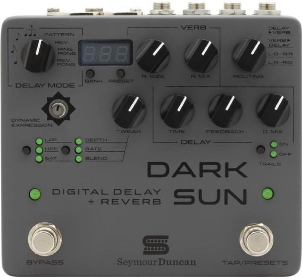 Dark Sun: delay e riverbero in uno da Seymour Duncan